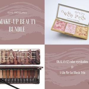 New Make-up Blush & Eyeshadow Bundle